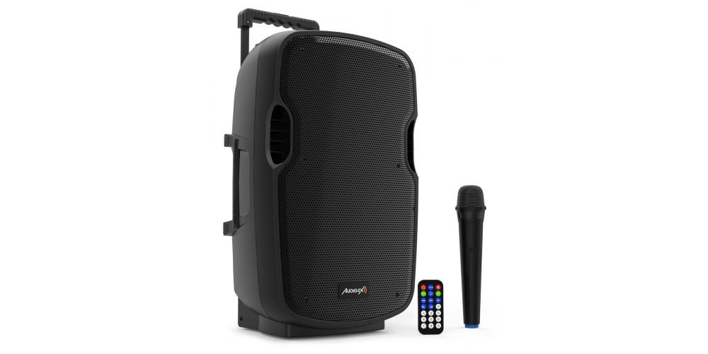 audibax denver combo port10 vhf altavoz bateria