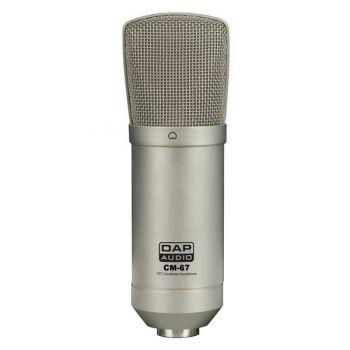 DAP Audio CM-67 Micrófono de Condensador de Estudio