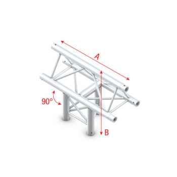 Showtec T-Cross vertical 3-way apex up Cruce en T 3 Direcciones para Truss GT30019