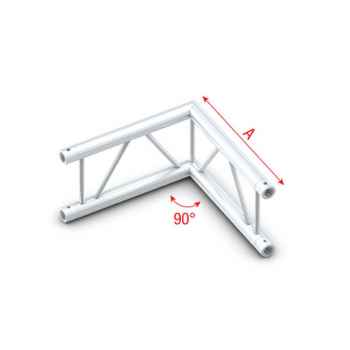 Showtec Corner 90 vertical Tramo Angulado para Truss PS30003V