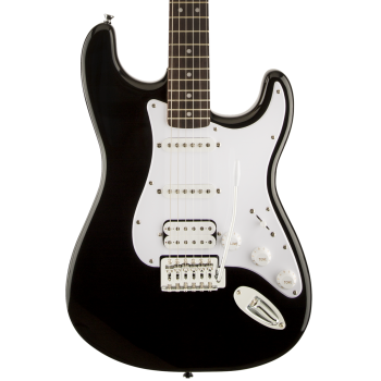 Fender Squier Bullet Stratocaster RW HSS Black. Guitarra Eléctrica
