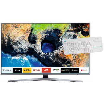 SAMSUNG UE 49MU6405 + Teclado / Touch ratón Logitech K400 Plus para un control más intuitivo del Smart Tv