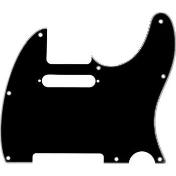 Fender Golpeador Telecaster 8 agujeros de montaje Negro