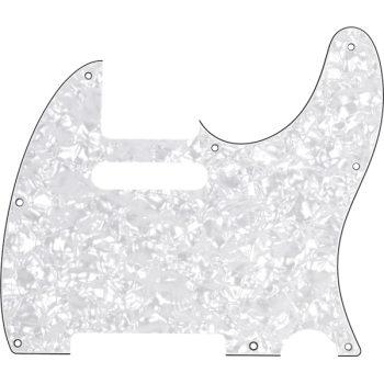 Fender Golpeador Telecaster 8 Agujeros de montaje Blanco Perlado