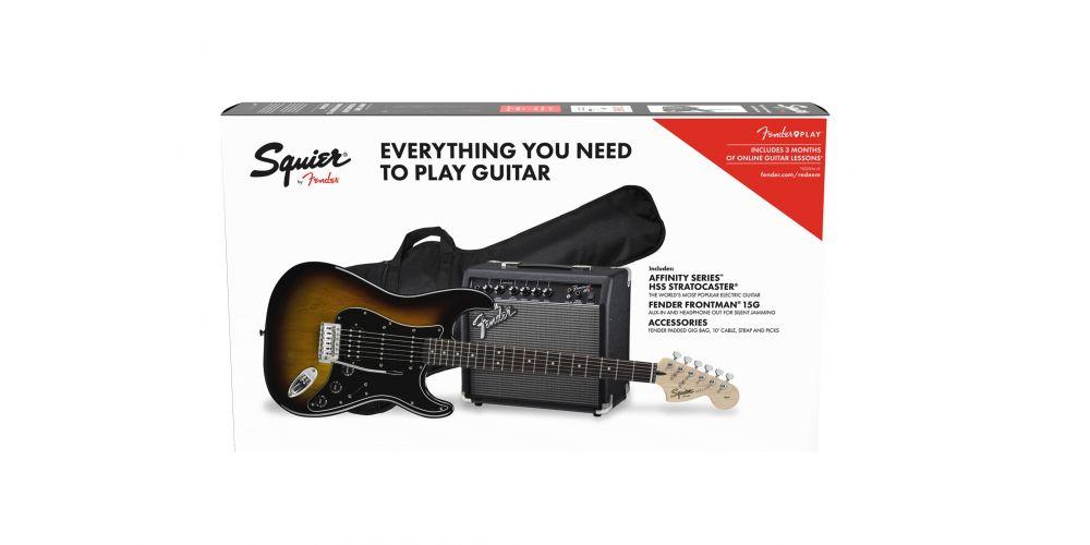Fender PK AF STRAT HSS BSB GB 230V EU
