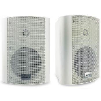 Audibax Pícolo PR-52W Pareja Altavoces 100W Stereo con Soporte Blancos