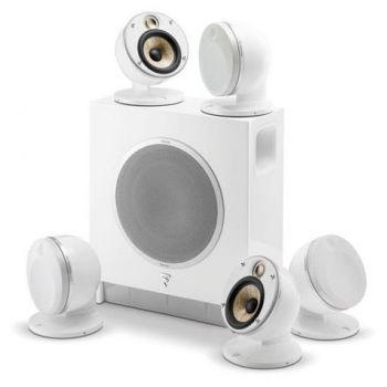 FOCAL DOME 5.1 Flax White altavoces Sub Air, Altavoces home cinema