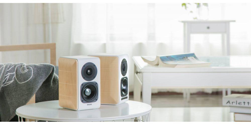 Edifier s880 db altavoces autoamplificados bluetooth conexiones en casa
