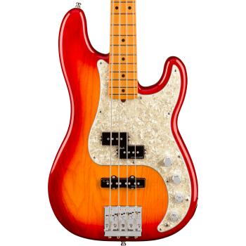 Fender American Ultra Precision Bass MN Plasma Red Burst