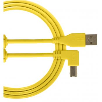 Udg U95005YL Ultimate Cable USB 2.0 A-B Amarillo en Angulo 2M