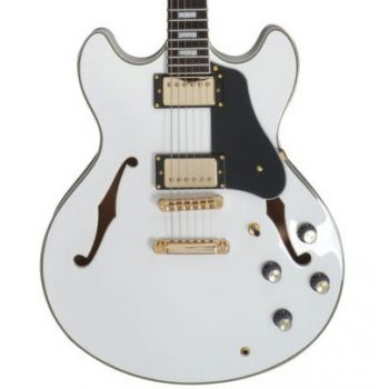 Larry Carlton by Sire H7 Guitarra Eléctrica White