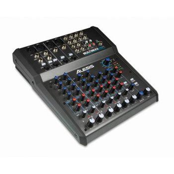 ALESIS MULTIMIX-8 USB FX Mezclador 8 canales Multiefectos EQ 3 bandas