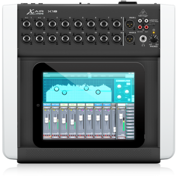 BEHRINGER X18 DIGITAL IPAD/TABLET Mezclador Digital para Ipad/Tablet