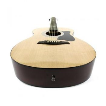 Ibanez VC50NJP NT Kit Guitarra Acústica con Funda, Correa y Accesorios