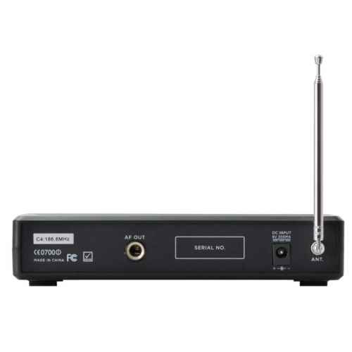 GEMINI VHF-01M Canal 8 Microfono Inalambrico Mano