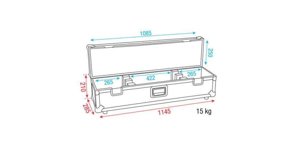 dap audio led bar case picture