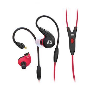 Mee Audio M7P Rojo Auriculares deportivos con control integrado