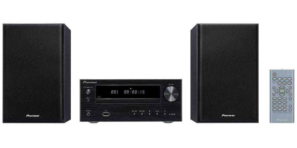 pioneer x hm16 black minicadena mando distancia