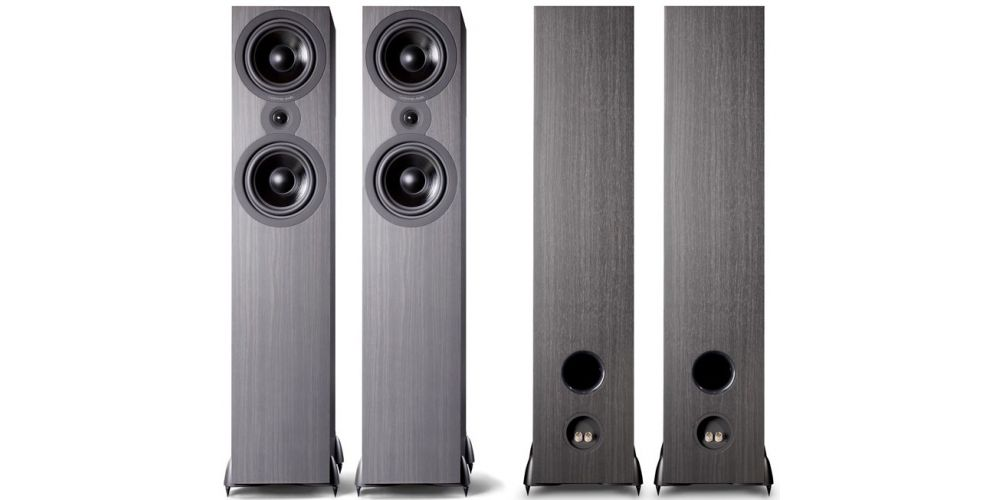 cambridge audio sx80 black altavoz pie