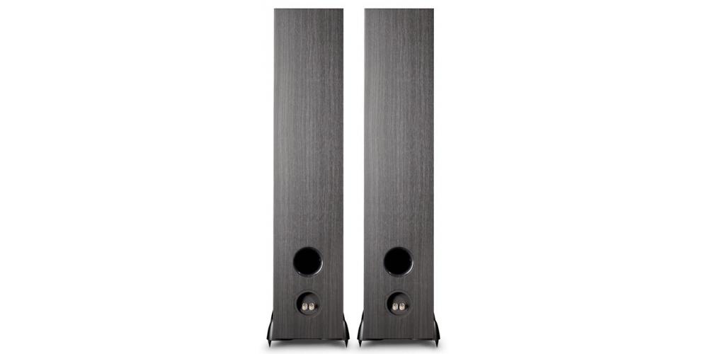 cambridge sx80 black altavoces suelo negro pareja conexiones