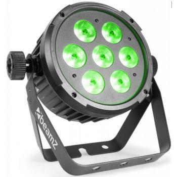 Beamz BT270 Foco PAR plano LED 7x6W 4-en-1 RGBW 151306