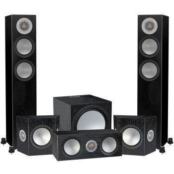 Monitor Audio Silver 200 AV12 POWER Black , Silver200+silverFX+Silver C150+W12,
