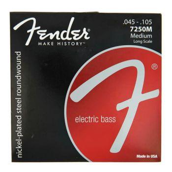 Fender 7250M Juego de cuerdas para bajo