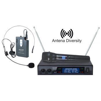 Audibax Missouri 3000 Microfono Inalámbrico Mano / Diadema-Corbata