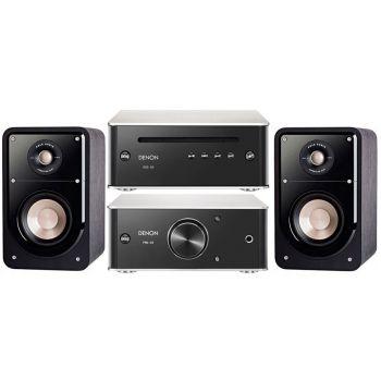 DENON SISTEMA 6015, PMA-60+DCD50+ POLK AUDIO S15 BK Conjunto Audio
