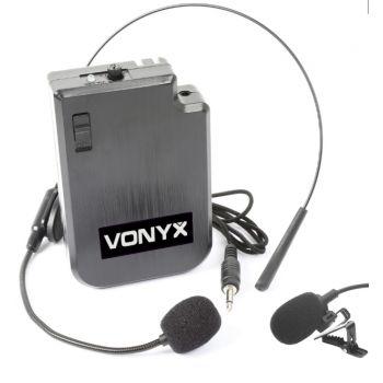 Vonyx VPS10BP Petaca y micro de cabeza UHF 170045