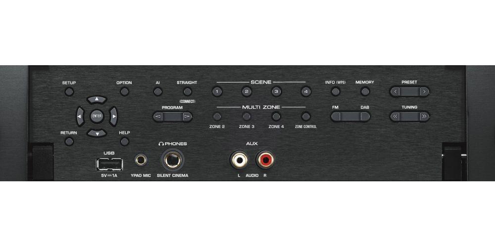 yamaha RXA3080 receptor av mando dolby atmos mandos funciones