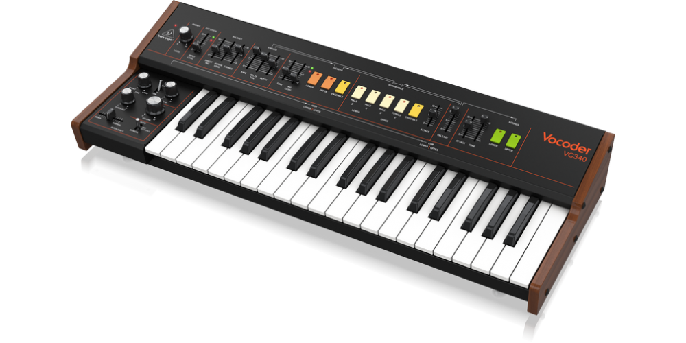 behringer VOCODER VC340 sintetizador
