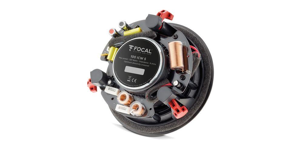 focal icw5 100 ICW5 altavoces empotrar rejilla blanca 5 pulgadas conexiones
