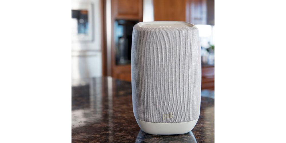 Polk audio ASSIS White altavoz wifi bluetooth en casa