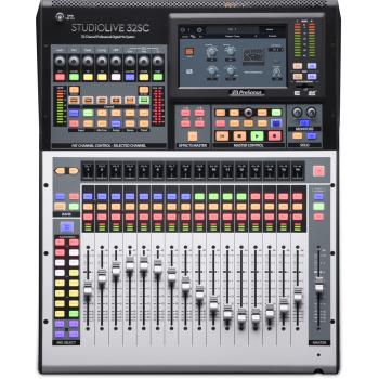 Presonus StudioLive 32SC III Mesa Mezclas Digital con interfaz de grabación USB