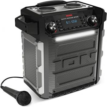 Ion Audio Block Rocker Sport Black Altavoz Bluetooth con Bateria Waterproof