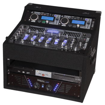Ibiza Sound DJ1000MKII CONJUNTO MOVIL AMPLIFICADO 2X480W