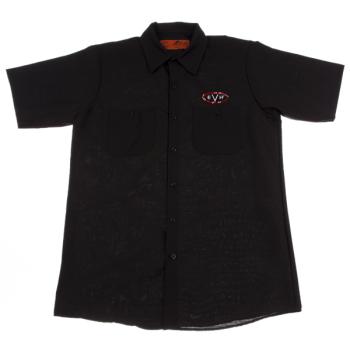 EVH Camisa Woven Black Talla M