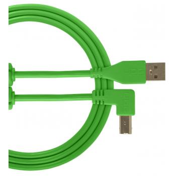 Udg U95006GR Ultimate Cable USB 2.0 A-B Verde en Angulo 3M