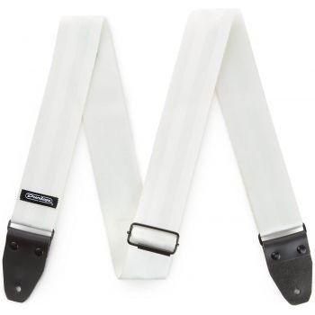 Dunlop Deluxe Seatbelt-White Correa para Guitarra