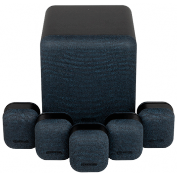 Monitor Audio MASS 5.1 Black Sistema de Altavoces 5.1,Subwoofer Mass W200
