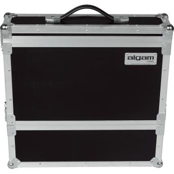 Algam Cases MICW2U Flight Case para Sistema de Microfonos Inalambricos Rack 2 unidades