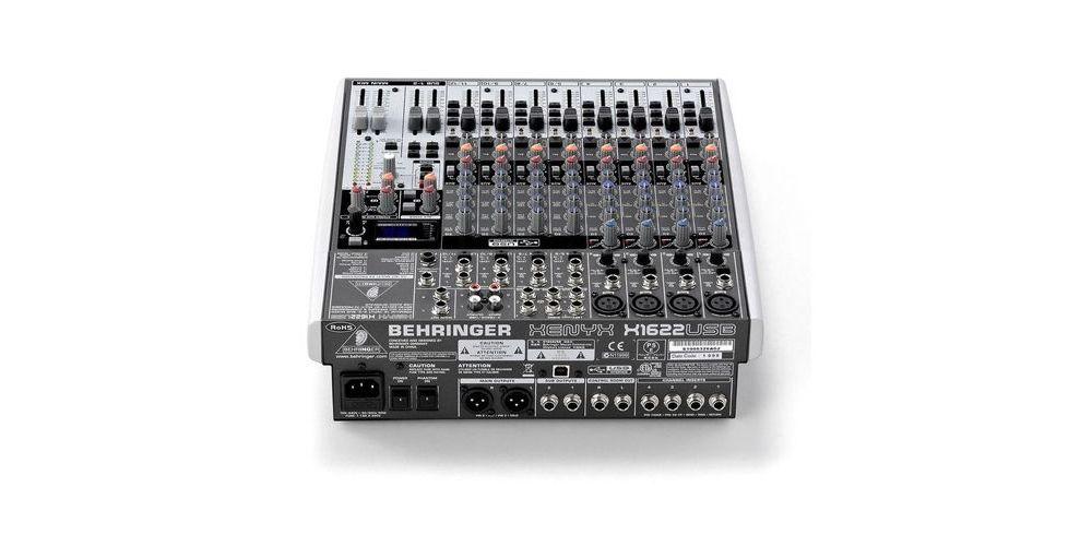 BEHRINGER X1622 USB Mezclador para Directo Behringer X-1622 USB Und.