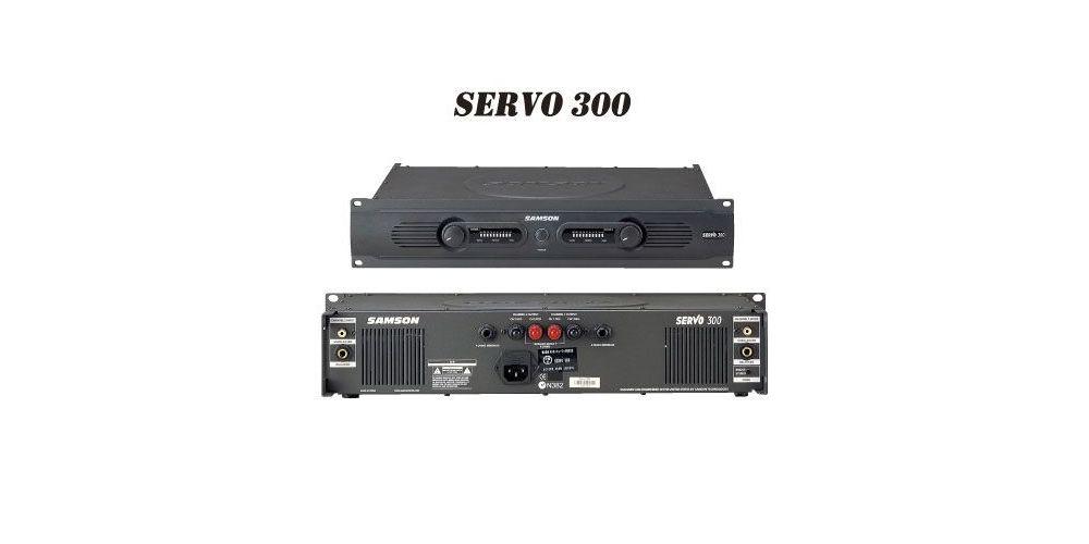 SAMSON SERVO 300 Etapa Potencia 2 X 150W
