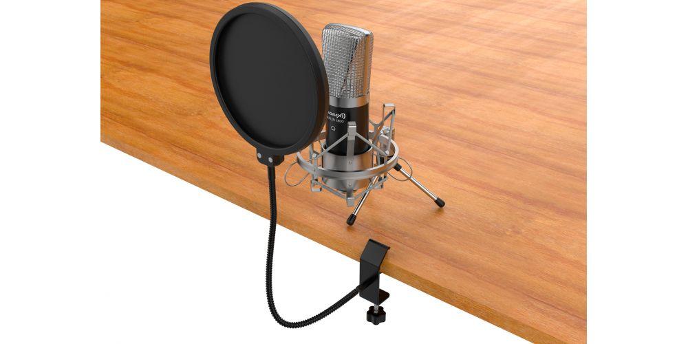 audibax anti pop filtro microfono