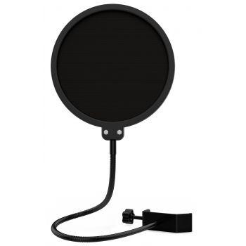 Audibax Anti-Pop Filtro para Micrófono de Nylon
