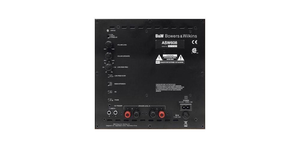 B&W ASW-608 Blanco