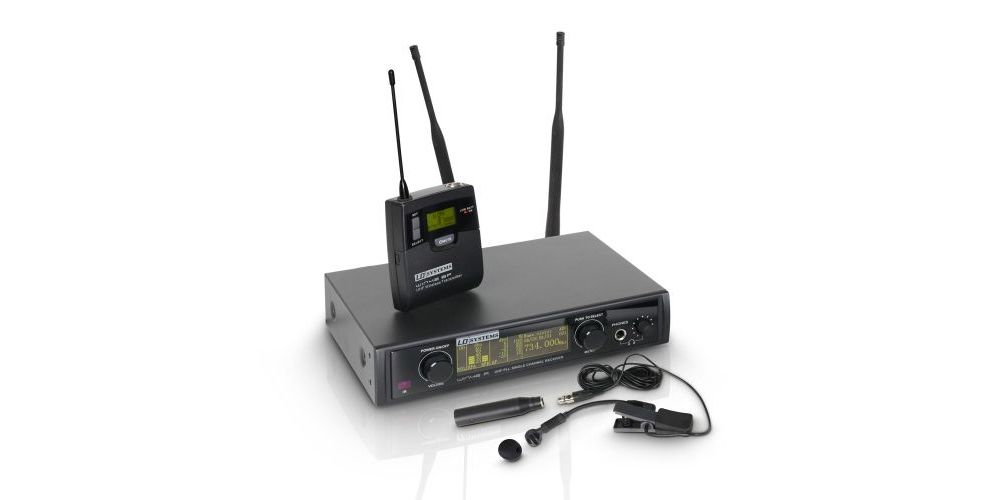 LD SYSTEMS WIN 42 BPW Sistema inalámbrico Petaca y Micrófono Viento