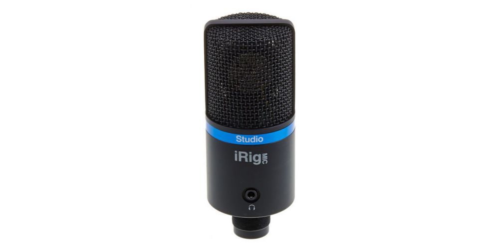 microfono irig mic studio black