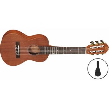 OQAN QUK-G6 Natural Guitalele con Funda Incluida